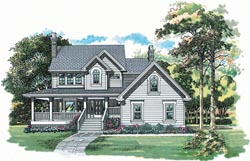 Country Style Floor Plans Plan: 35-493