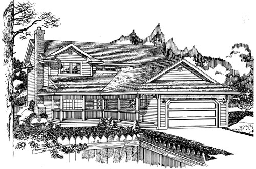 Traditional Style Floor Plans Plan: 35-520