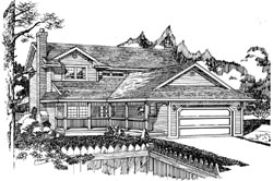 Traditional Style House Plans Plan: 35-520