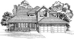 Traditional Style Floor Plans Plan: 35-558