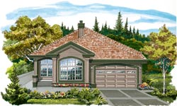 Traditional Style Floor Plans Plan: 35-567