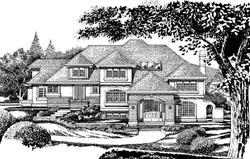 European Style House Plans Plan: 35-570