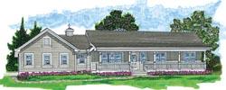 Ranch Style Floor Plans Plan: 35-579