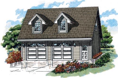 Cape-cod Style House Plans Plan: 35-636