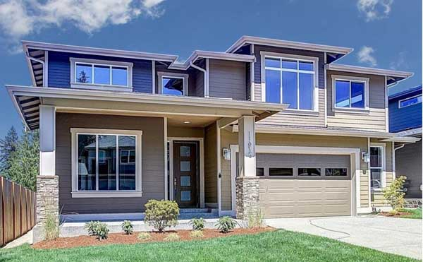 . Contemporary House Plan   5 Bedrooms  4 Bath  3249 Sq Ft Plan 36 101