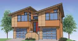 Modern Style Floor Plans Plan: 36-115