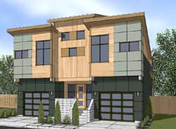 Contemporary Style Floor Plans Plan: 36-120