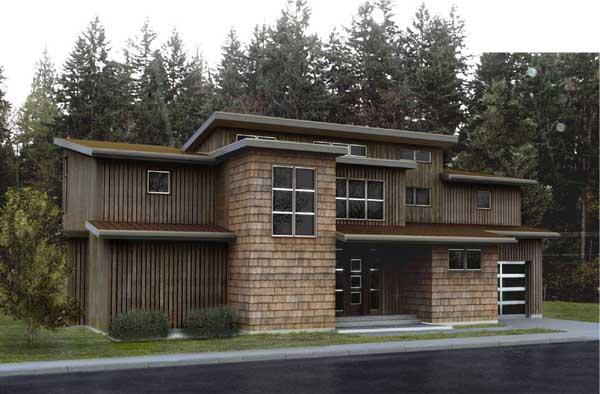 Modern Style Floor Plans Plan: 36-121
