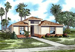 Florida Style House Plans Plan: 37-115