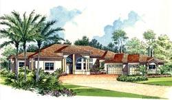 Florida Style Floor Plans Plan: 37-126