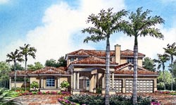 Florida Style House Plans Plan: 37-137