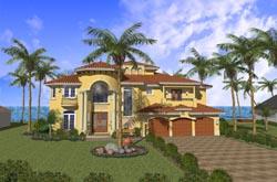 Mediterranean Style House Plans Plan: 37-162