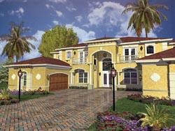 Mediterranean Style House Plans Plan: 37-179