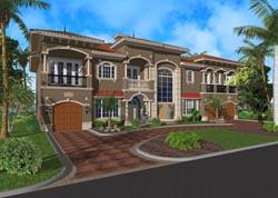 Mediterranean Style House Plans Plan: 37-182