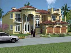 Italian Style House Plans 37-190