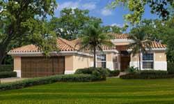 Sunbelt Style House Plans Plan: 37-207