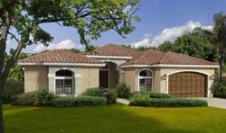 Mediterranean Style House Plans Plan: 37-211