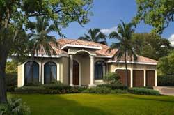 Mediterranean Style House Plans Plan: 37-213