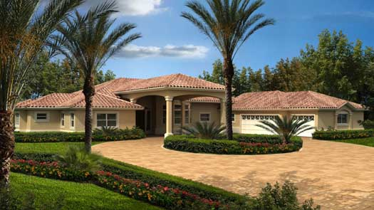 Florida Style House Plans 37-217