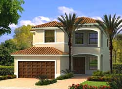 Florida Style Floor Plans Plan: 37-224