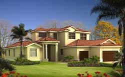 Florida Style Floor Plans Plan: 37-225