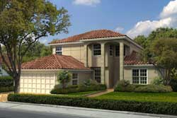 Florida Style House Plans Plan: 37-229