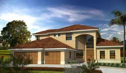 Florida Style House Plans Plan: 37-230