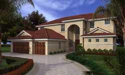 Florida Style Floor Plans Plan: 37-235