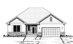 Traditional Style House Plans Plan: 38-103