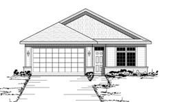 Traditional Style Home Design Plan: 38-119