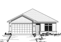 Traditional Style Home Design Plan: 38-120