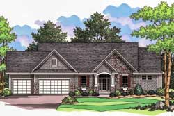 Traditional Style Floor Plans Plan: 38-125