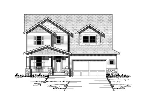 Craftsman Style House Plans Plan: 38-158