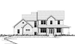 Country Style Floor Plans Plan: 38-183