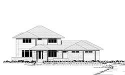 Prairie Style Floor Plans Plan: 38-186