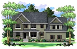 Traditional Style House Plans Plan: 38-198