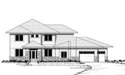 Prairie Style Home Design Plan: 38-209