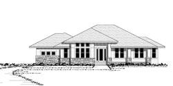 Prairie Style Home Design Plan: 38-211