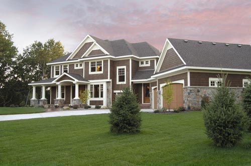 Traditional Style Home Design Plan: 38-217