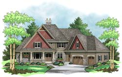 European Style House Plans 38-252