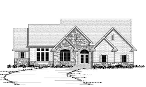 Traditional Style House Plans Plan: 38-260