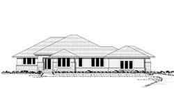 Prairie Style Floor Plans Plan: 38-265