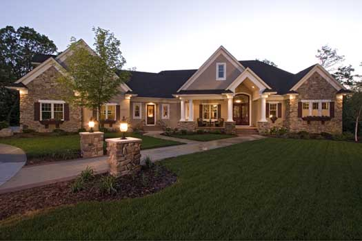 Traditional Style Home Design Plan: 38-269