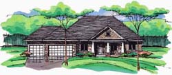 Craftsman Style House Plans Plan: 38-300