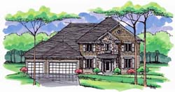Traditional Style Floor Plans Plan: 38-361