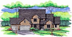 Cottage Style House Plans Plan: 38-378
