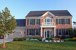 Early-American Style Home Design Plan: 38-400