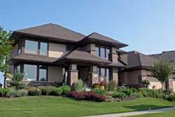 Prairie Style Floor Plans Plan: 38-484