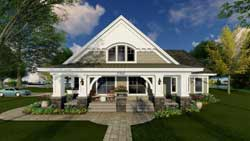 Craftsman Style Floor Plans Plan: 38-502