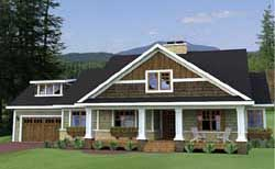 Craftsman Style House Plans 38-503